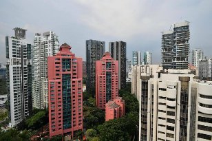 Singapore condo resale prices up 0.6% in April